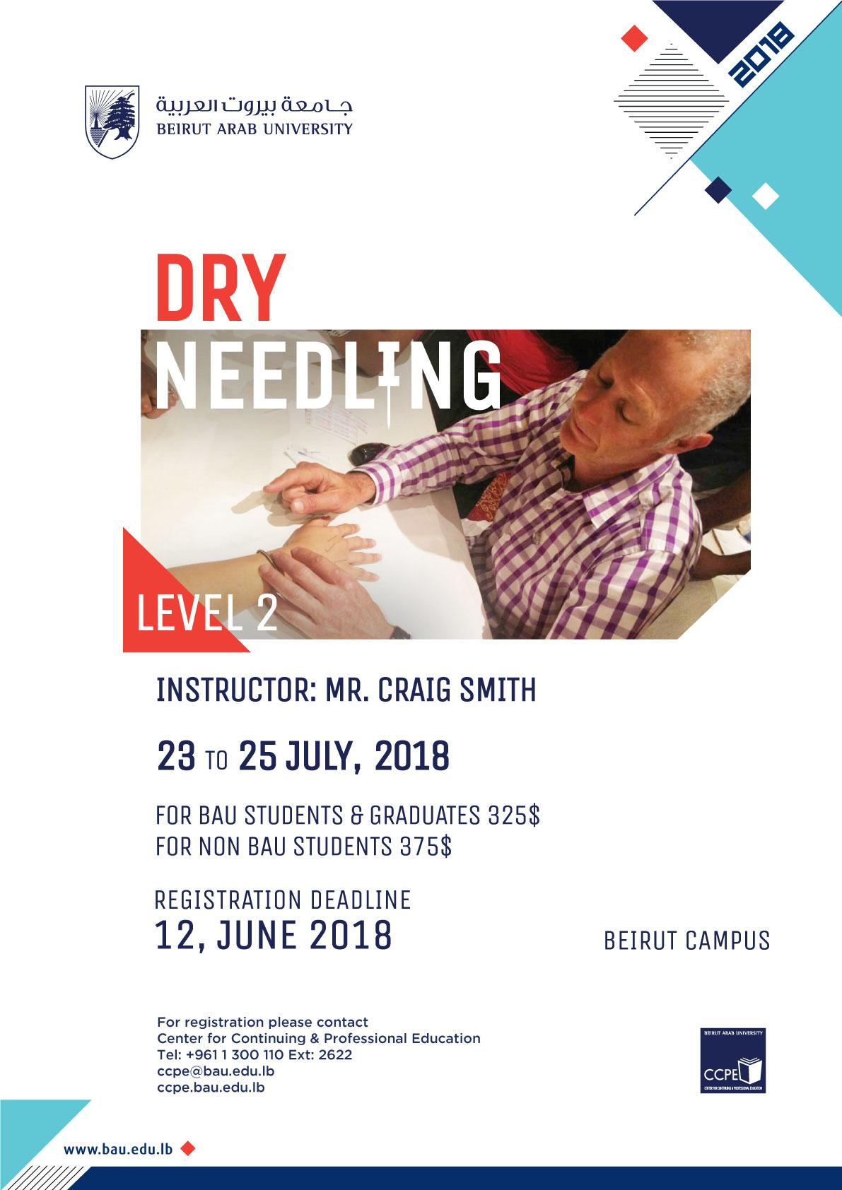Dry Needling: Level 2